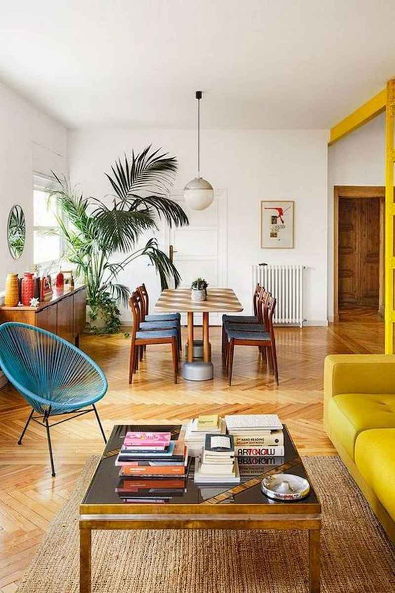 80+ Stunning Colorful Living Room Decor Ideas And Remodel for Summer Project (52)