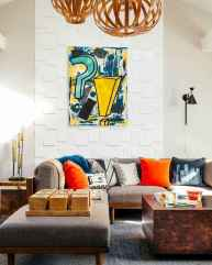 80+ Stunning Colorful Living Room Decor Ideas And Remodel for Summer Project (53)