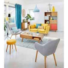 80+ Stunning Colorful Living Room Decor Ideas And Remodel for Summer Project (7)