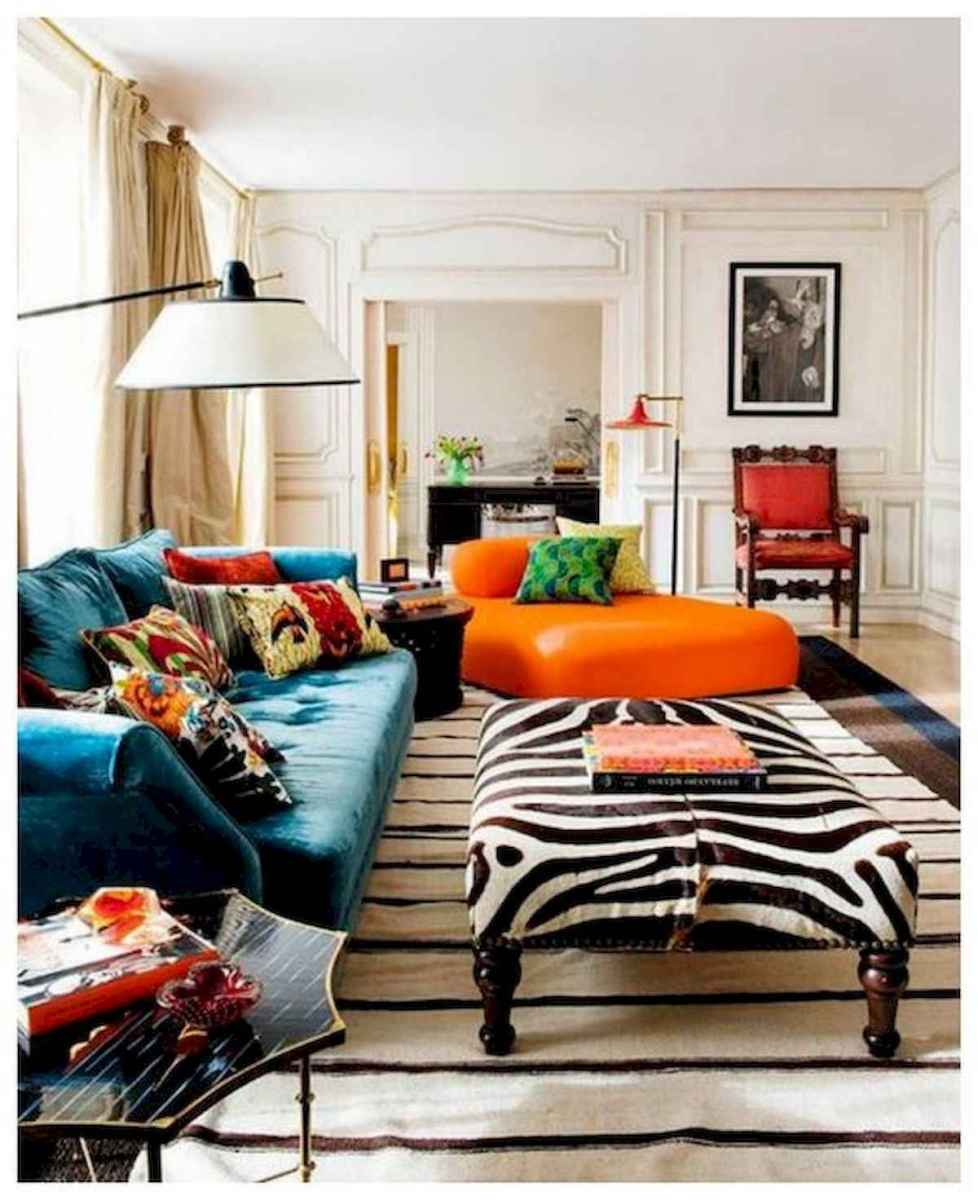 80+ Stunning Colorful Living Room Decor Ideas And Remodel for Summer Project (80)
