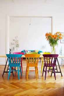 90+ Creative Colorful Apartment Decor Ideas And Remodel for Summer Project (17)