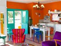 90+ Creative Colorful Apartment Decor Ideas And Remodel for Summer Project (53)