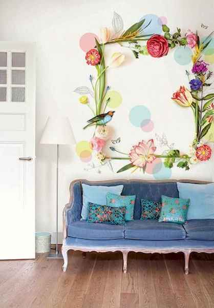 90+ Creative Colorful Apartment Decor Ideas And Remodel for Summer Project (55)