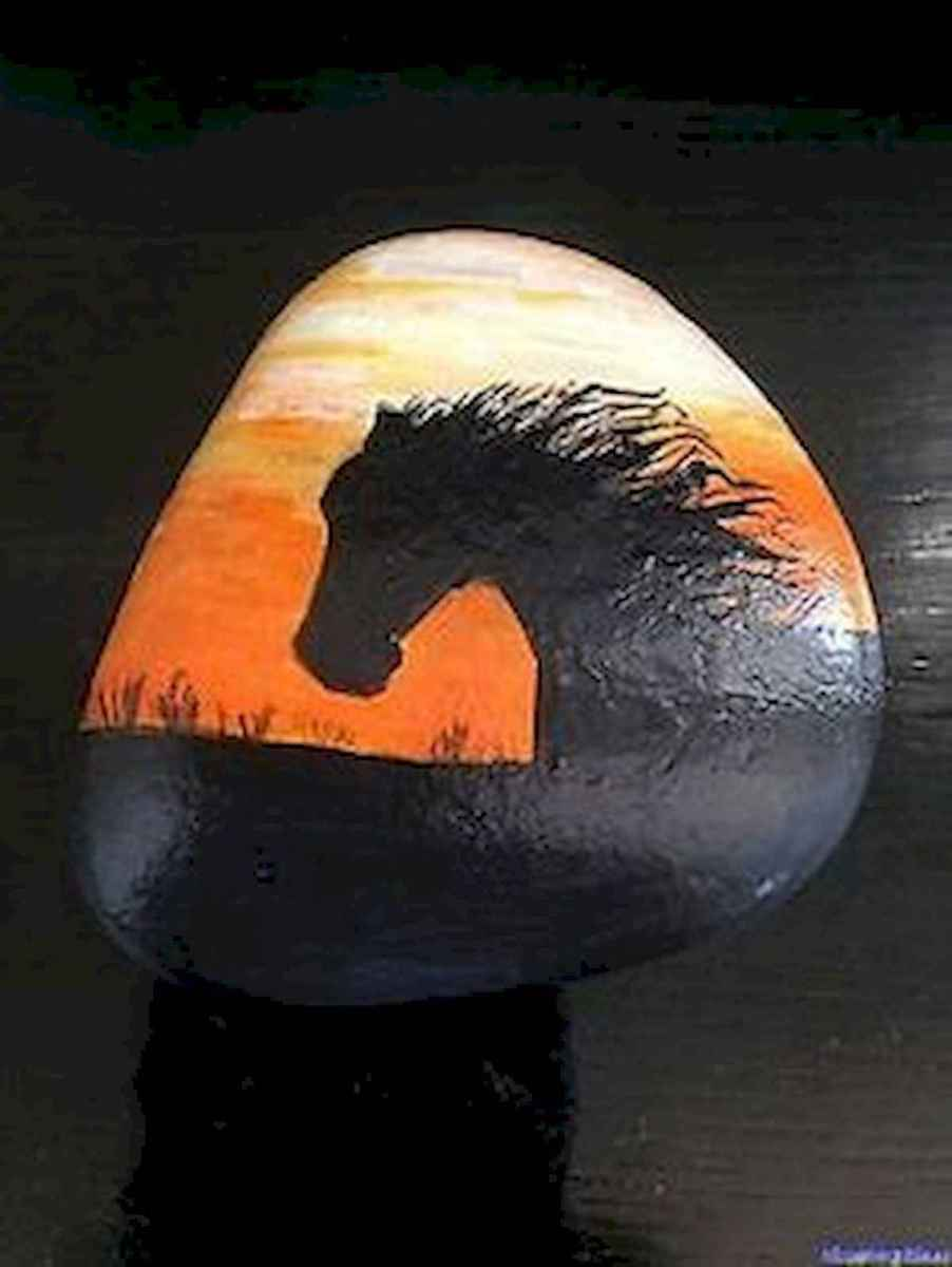 25 Suprising DIY Projects Painted Rocks Animals Horse for Summer Ideas (1)