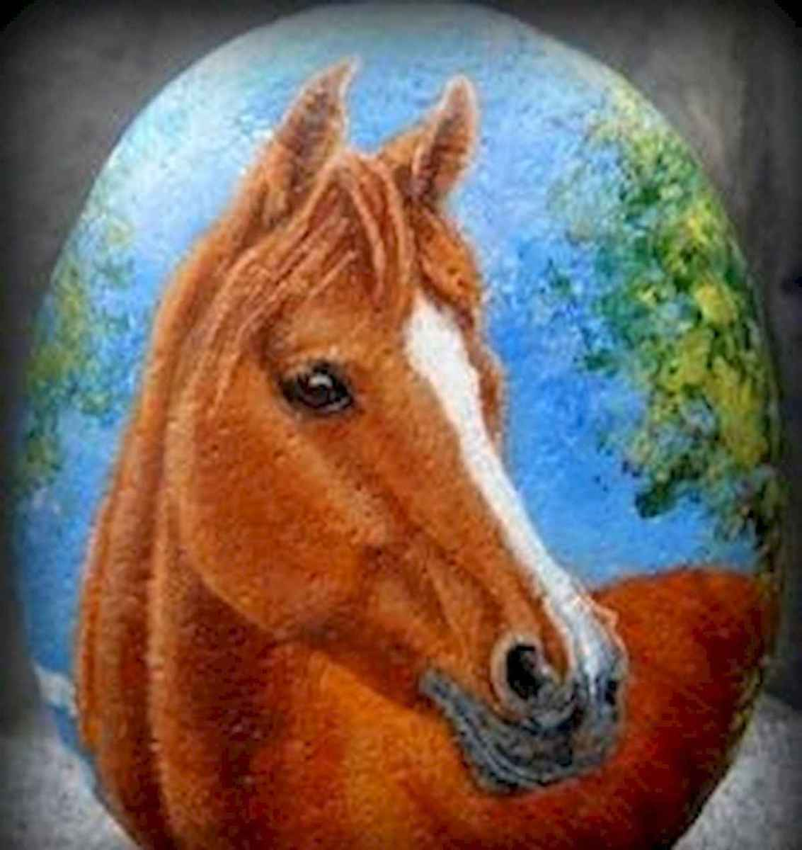 25 Suprising DIY Projects Painted Rocks Animals Horse for Summer Ideas (8)