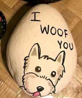 40 Awesome DIY Projects Painted Rocks Animals Dogs for Summer Ideas (11)