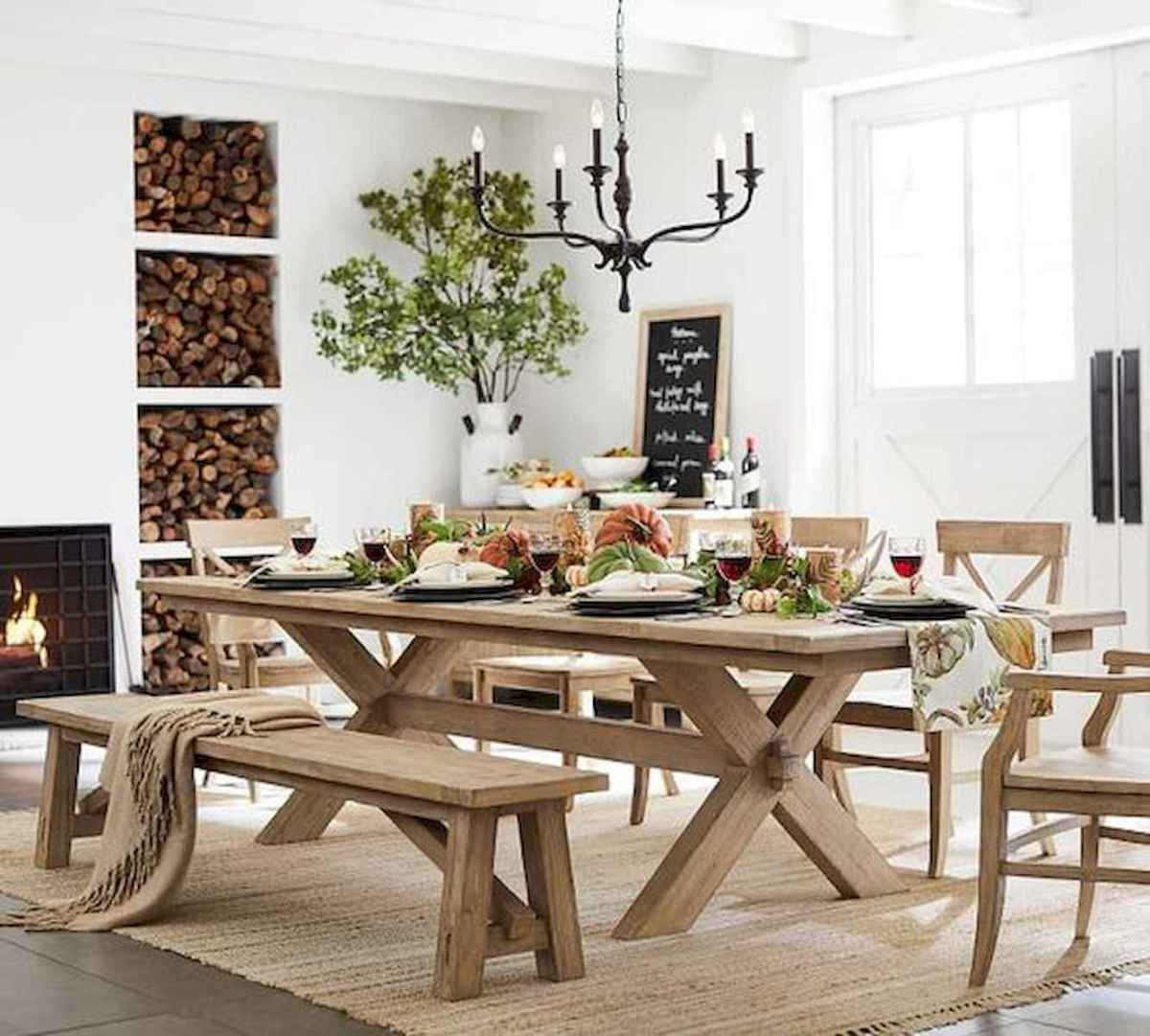 55 Stunning DIY Projects Furniture Tables Dining Rooms Design Ideas (14)