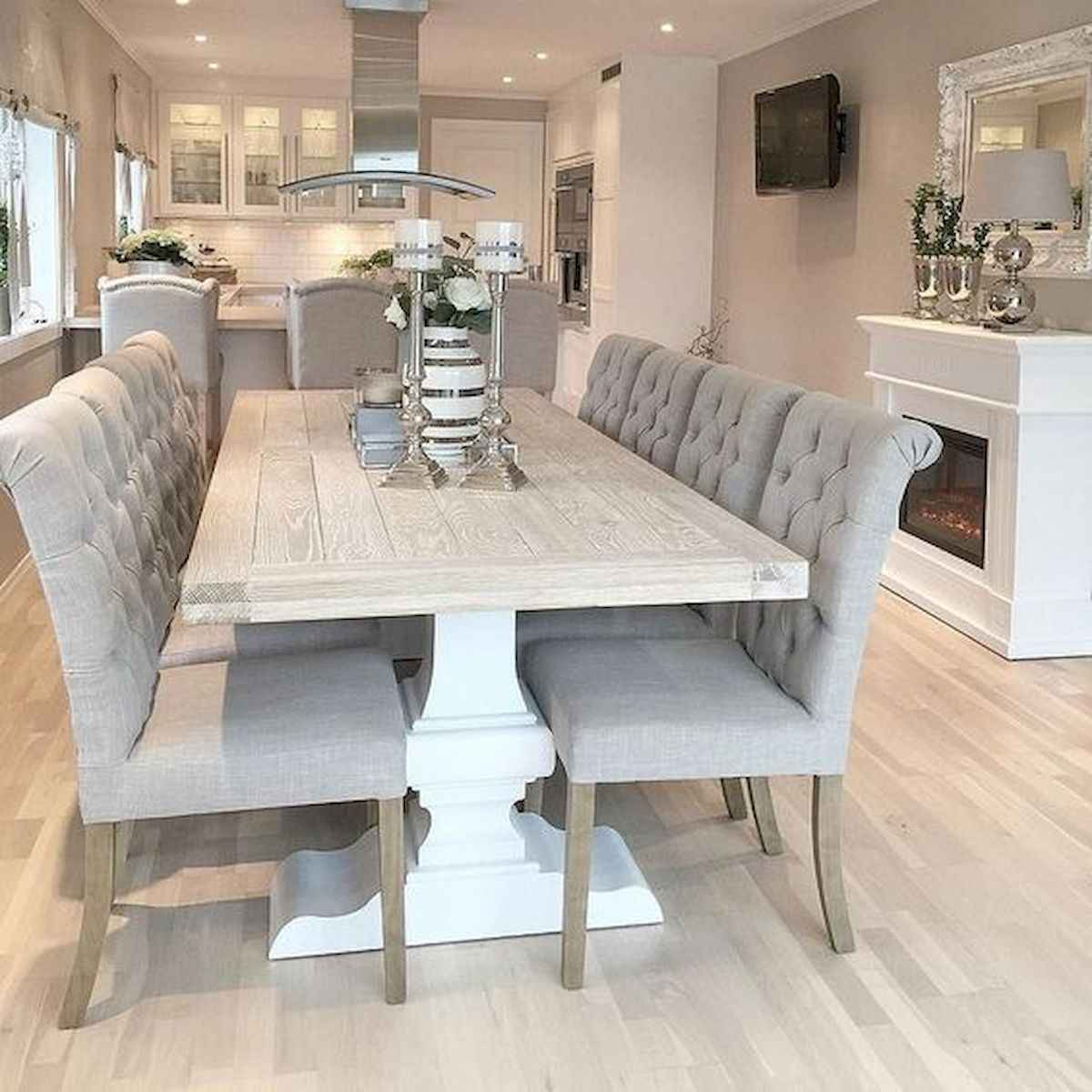 55 Stunning DIY Projects Furniture Tables Dining Rooms Design Ideas (24)