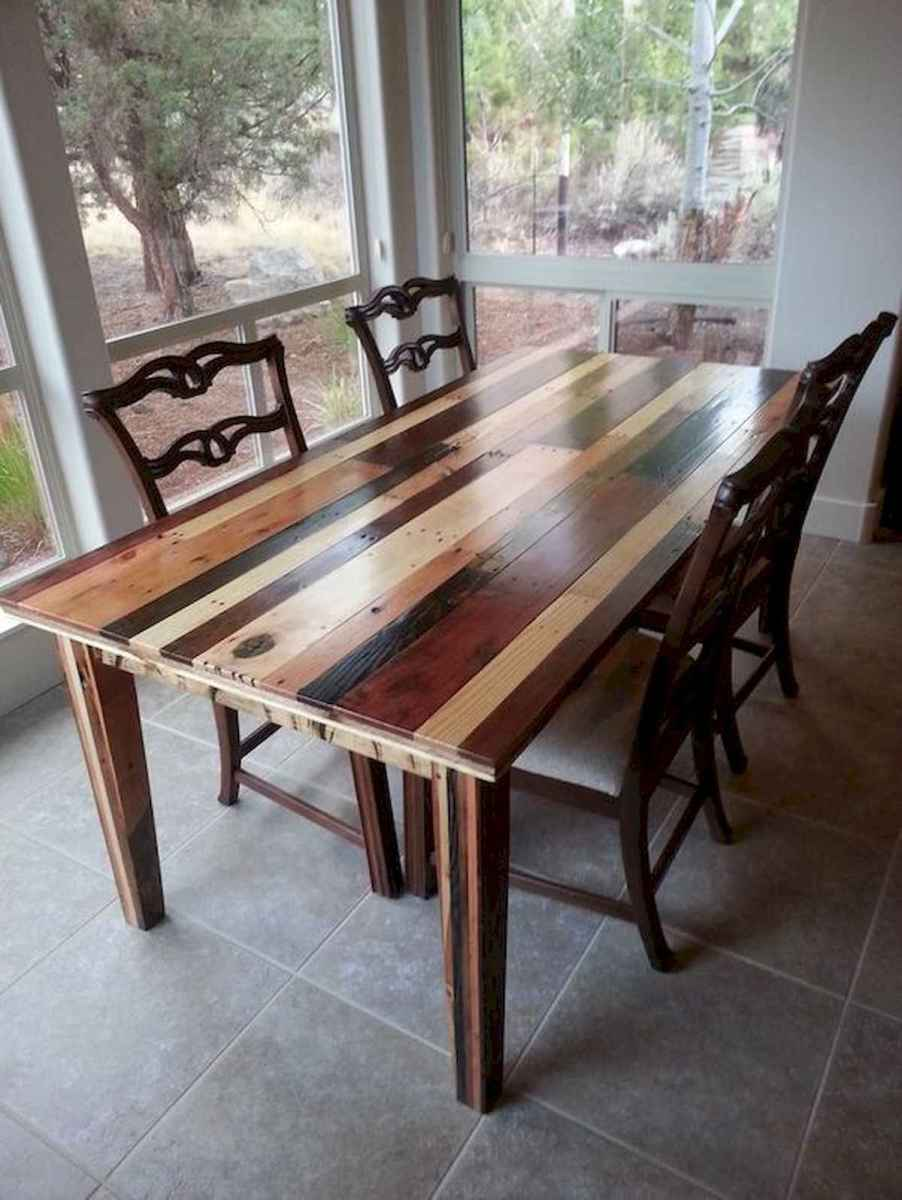 55 Stunning DIY Projects Furniture Tables Dining Rooms Design Ideas (30)