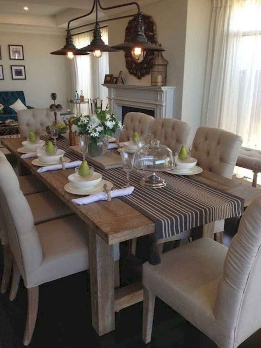 55 Stunning DIY Projects Furniture Tables Dining Rooms Design Ideas (46)