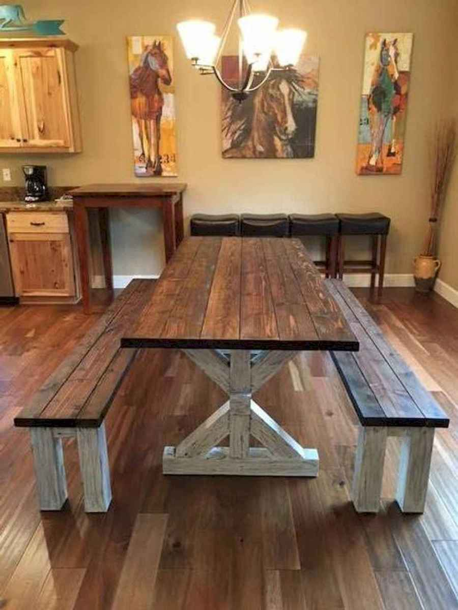 55 Stunning DIY Projects Furniture Tables Dining Rooms Design Ideas (53)