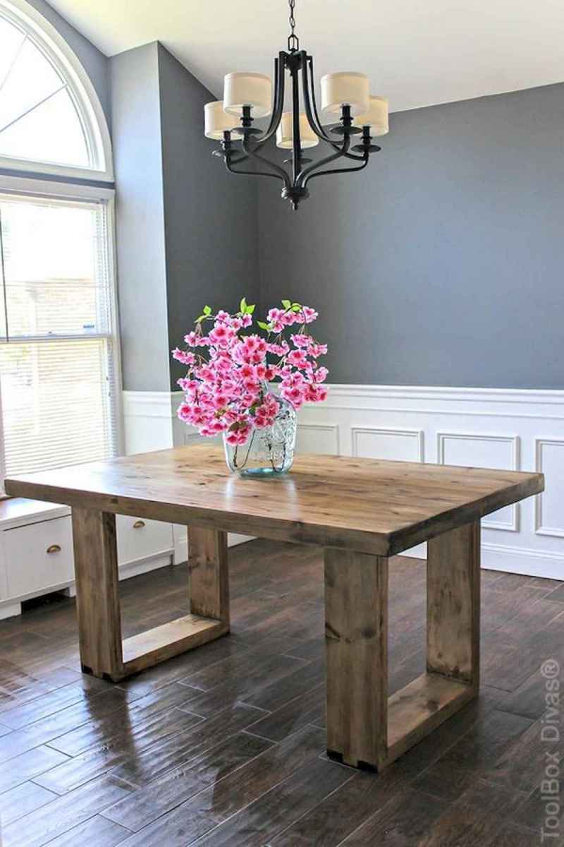 55 Stunning DIY Projects Furniture Tables Dining Rooms Design Ideas (54)