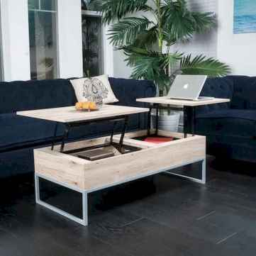 60 Creative DIY Projects Furniture Living Room Table Design Ideas (45)