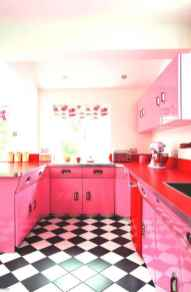 60 Lovely Painted Kitchen Cabinets Two Tone Design Ideas (20)