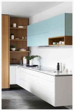 60 Lovely Painted Kitchen Cabinets Two Tone Design Ideas (25)