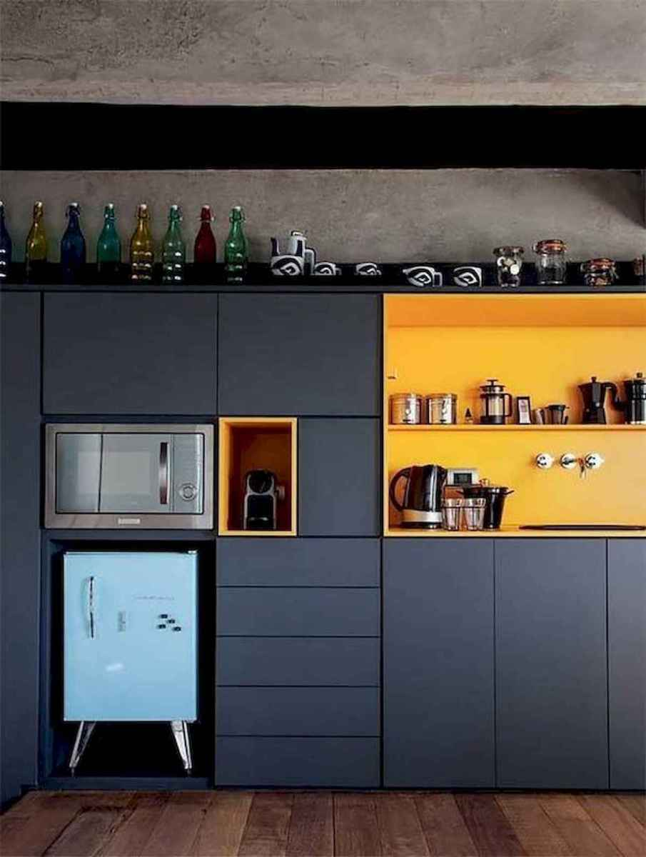 60 Lovely Painted Kitchen Cabinets Two Tone Design Ideas (29)