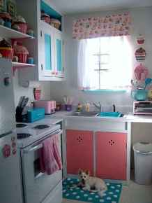 60 Lovely Painted Kitchen Cabinets Two Tone Design Ideas (31)