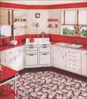 60 Lovely Painted Kitchen Cabinets Two Tone Design Ideas (36)