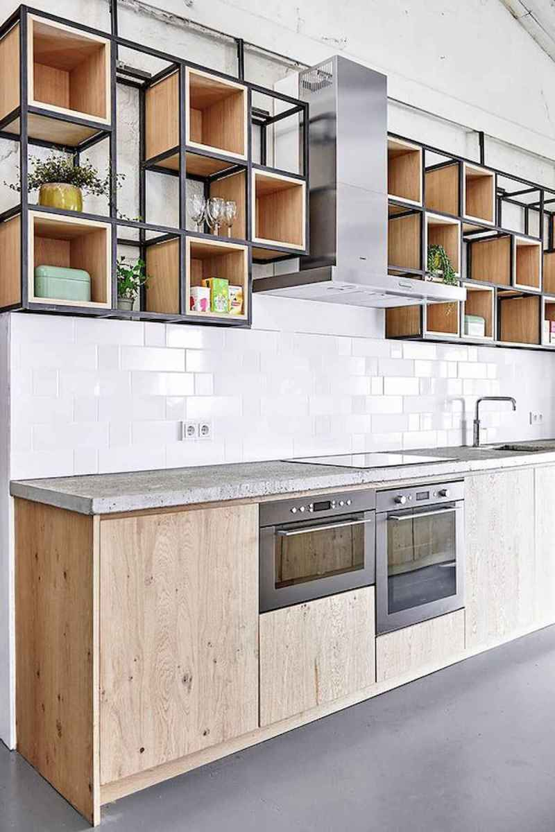 60 Lovely Painted Kitchen Cabinets Two Tone Design Ideas (41)