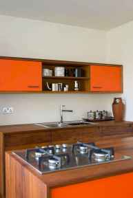 60 Lovely Painted Kitchen Cabinets Two Tone Design Ideas (45)