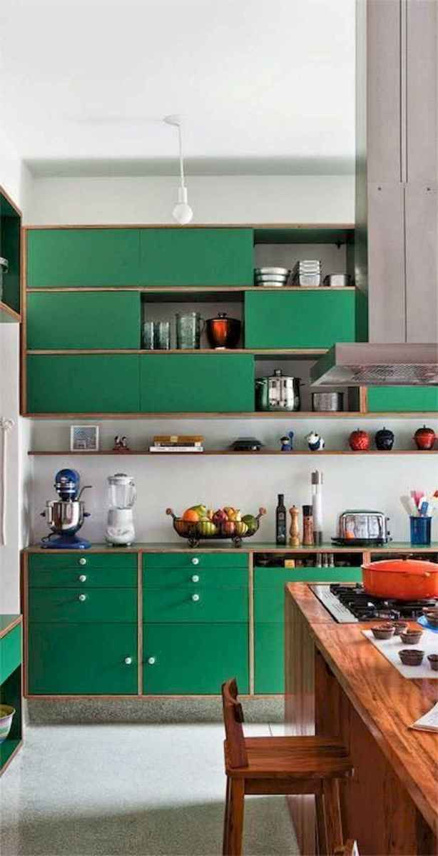 60 Lovely Painted Kitchen Cabinets Two Tone Design Ideas (47)