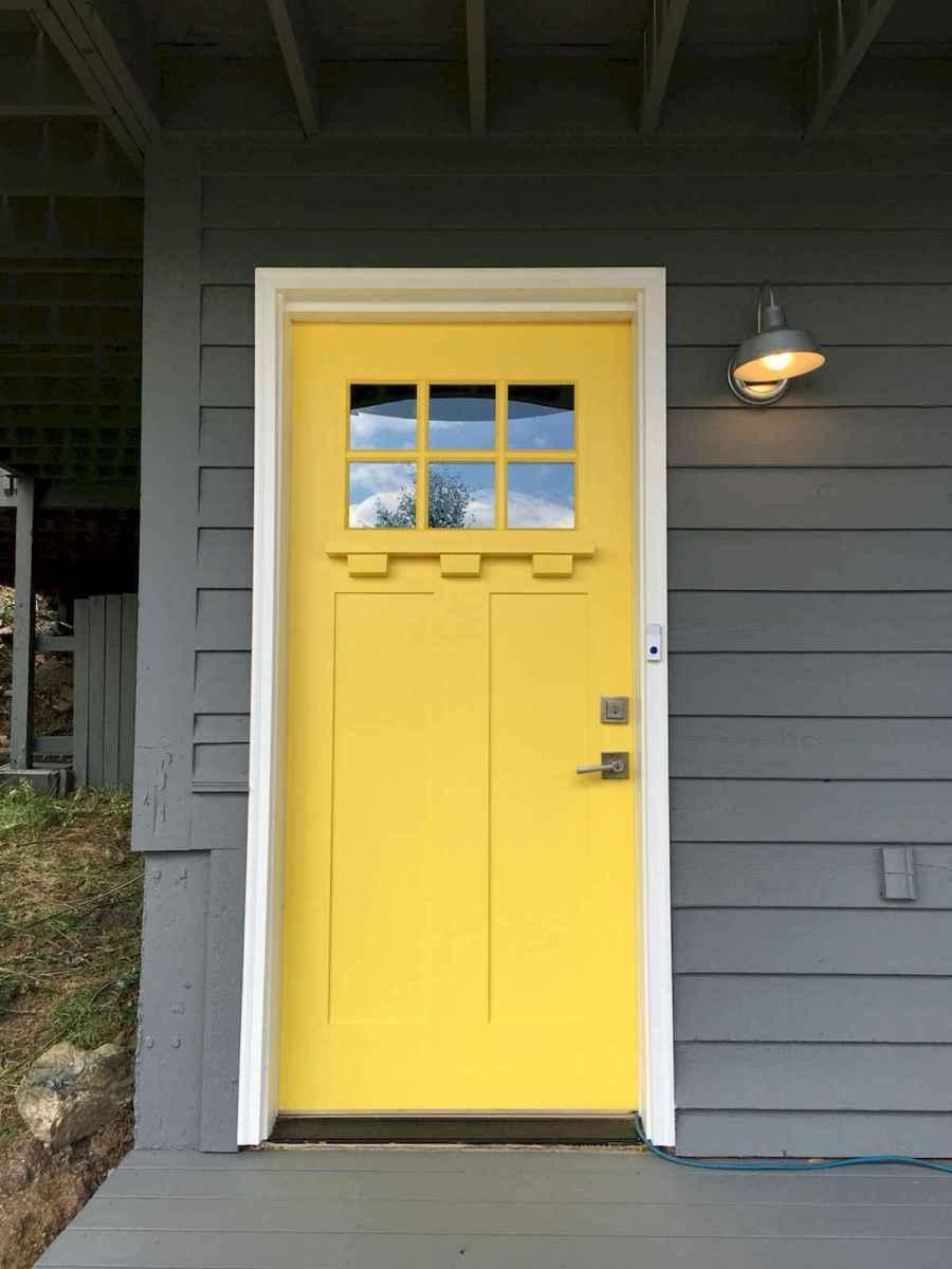 100 Unique Front Doors Colors Design Ideas (30)