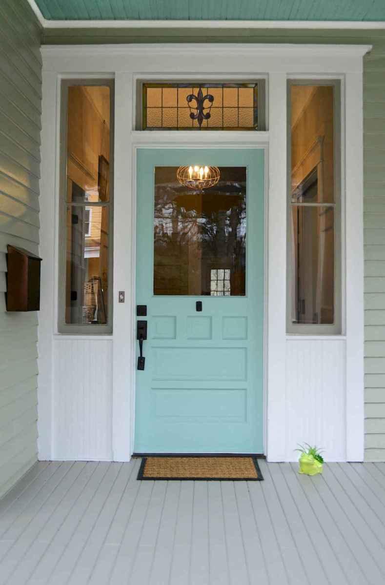 100 Unique Front Doors Colors Design Ideas (44)
