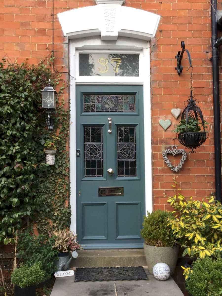 100 Unique Front Doors Colors Design Ideas (45)