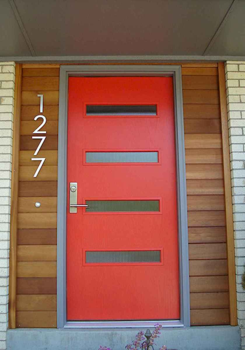 100 Unique Front Doors Colors Design Ideas (52)