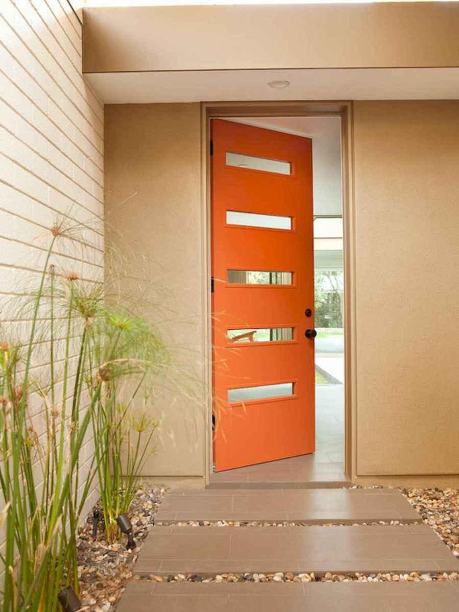 100 Unique Front Doors Colors Design Ideas (53)