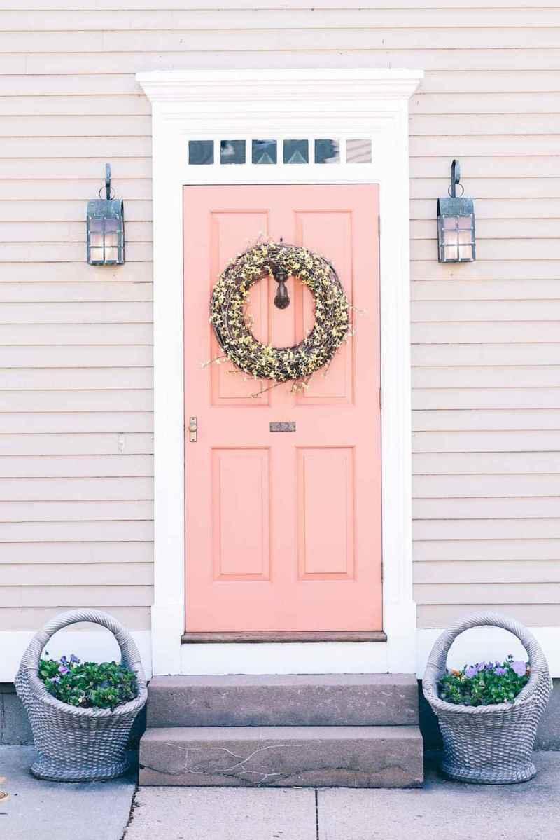 100 Unique Front Doors Colors Design Ideas (86)