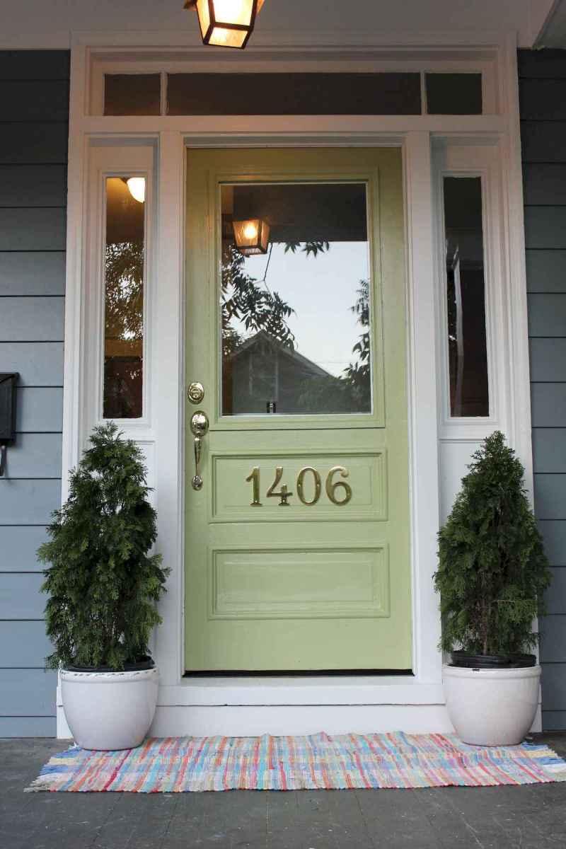 100 Unique Front Doors Colors Design Ideas (92)