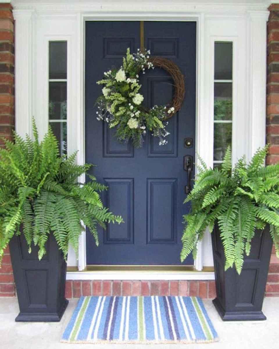 100 Unique Front Doors Colors Design Ideas (95)