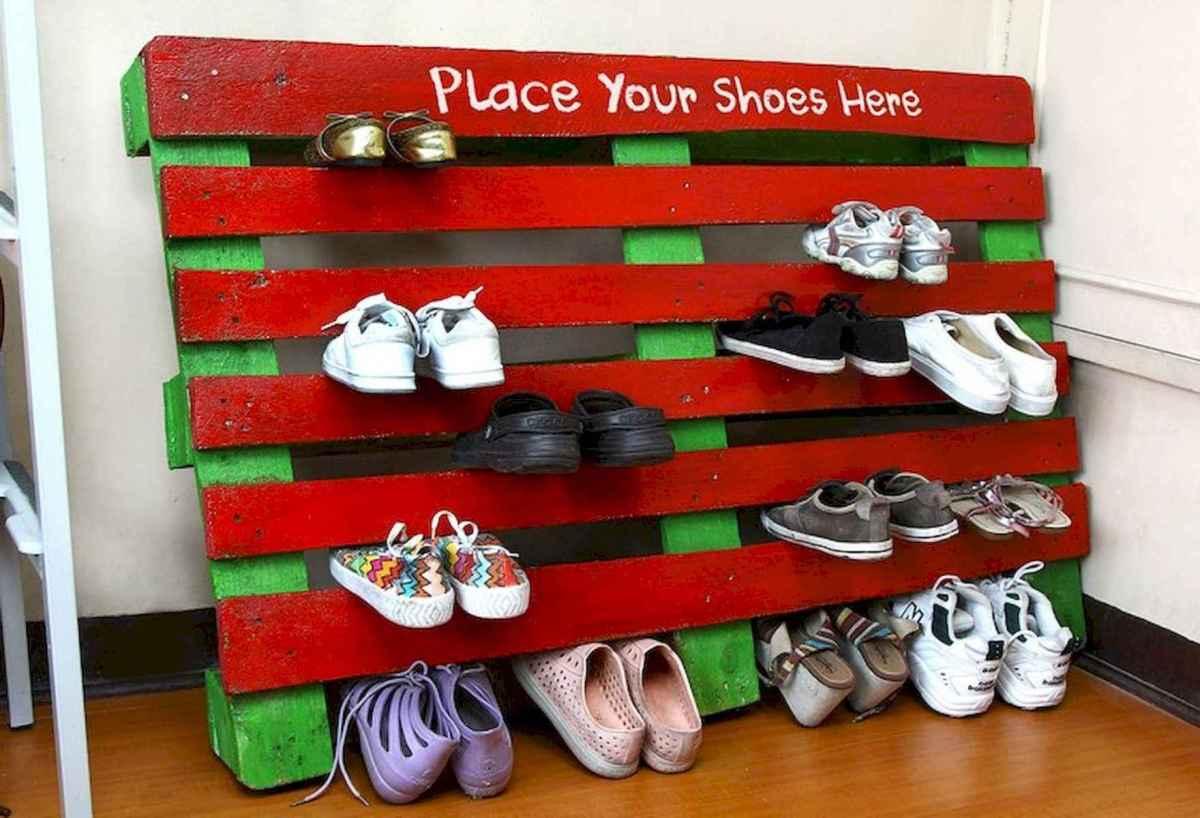 55 Genius Shoes Rack Design Ideas (25)