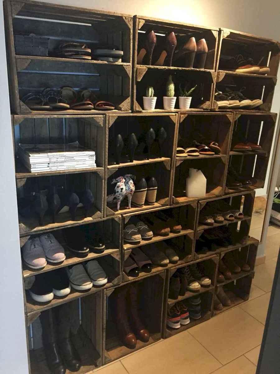 55 Genius Shoes Rack Design Ideas (38)