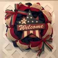 60 Beautiful Front Door Summer Wreath Decor Ideas (1)