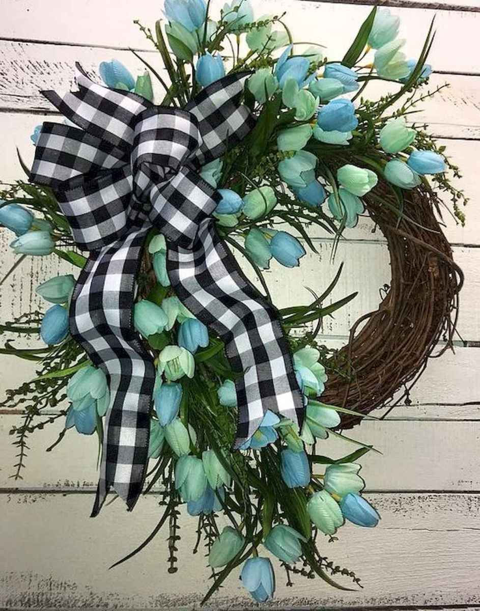 60 Lovely Summer Wreath Design Ideas and Remodel (22)