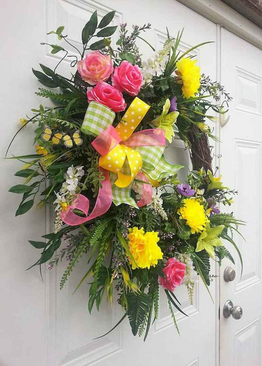 60 Lovely Summer Wreath Design Ideas and Remodel (27)