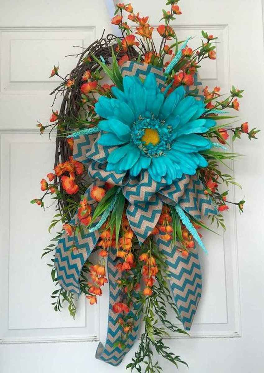 60 Lovely Summer Wreath Design Ideas and Remodel (29)