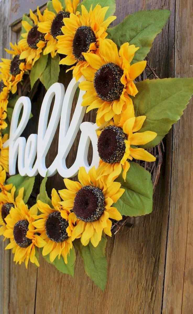 60 Lovely Summer Wreath Design Ideas and Remodel (36)