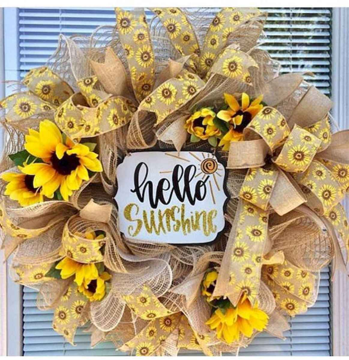 60 Lovely Summer Wreath Design Ideas and Remodel (38)