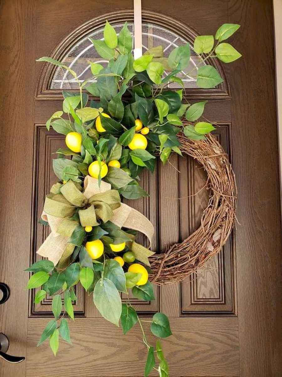 60 Lovely Summer Wreath Design Ideas and Remodel (40)