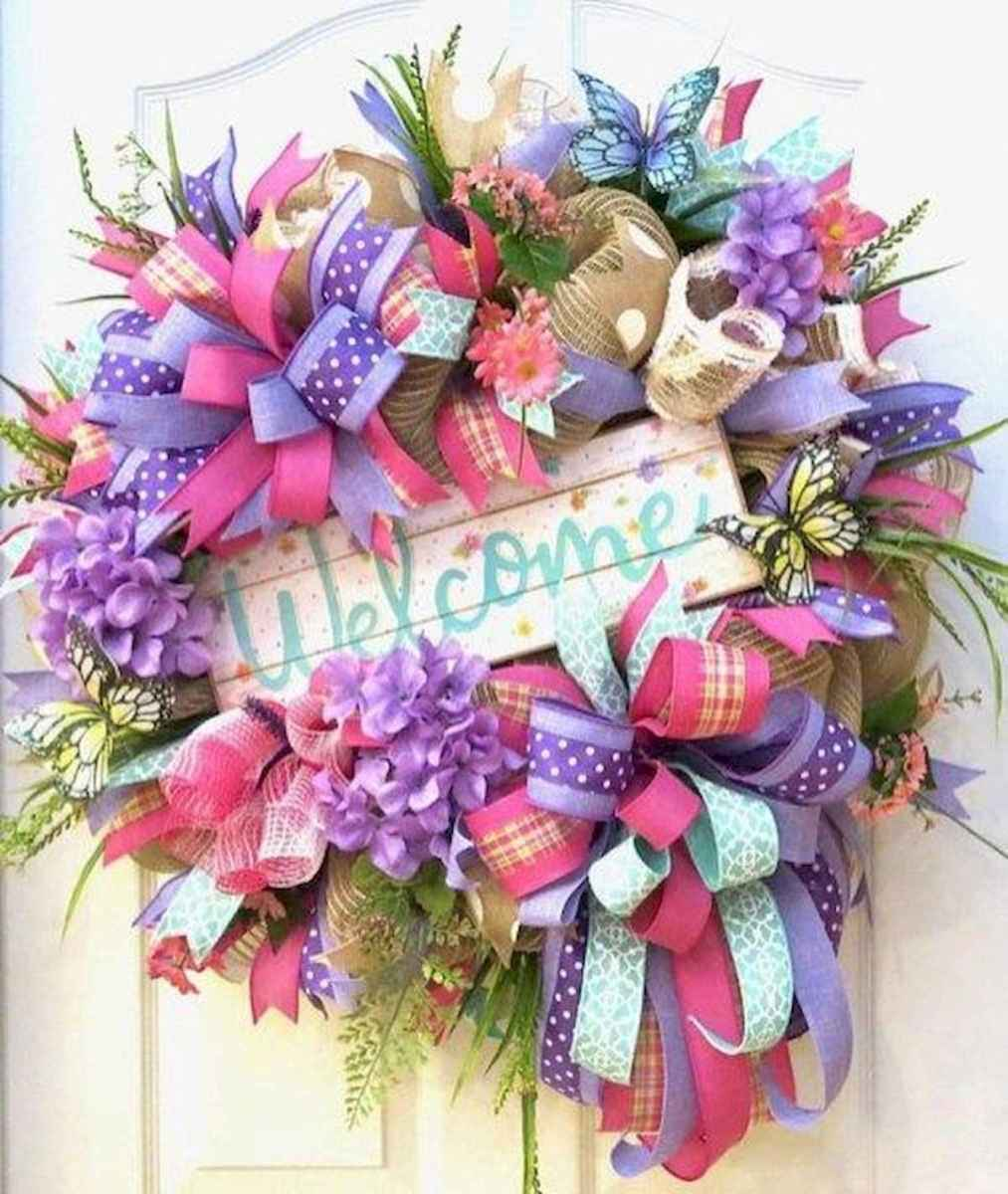 60 Lovely Summer Wreath Design Ideas and Remodel (45)