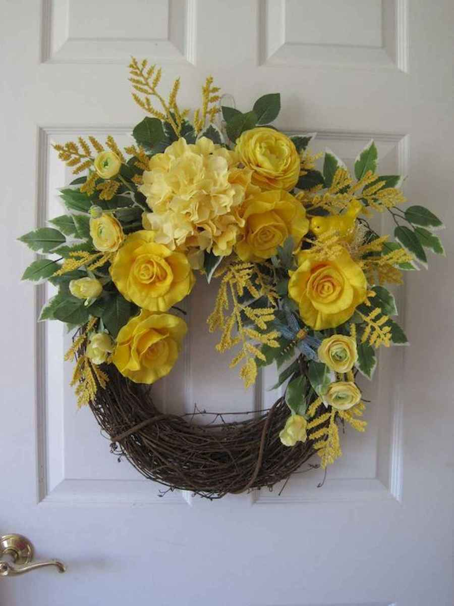 60 Lovely Summer Wreath Design Ideas and Remodel (49)