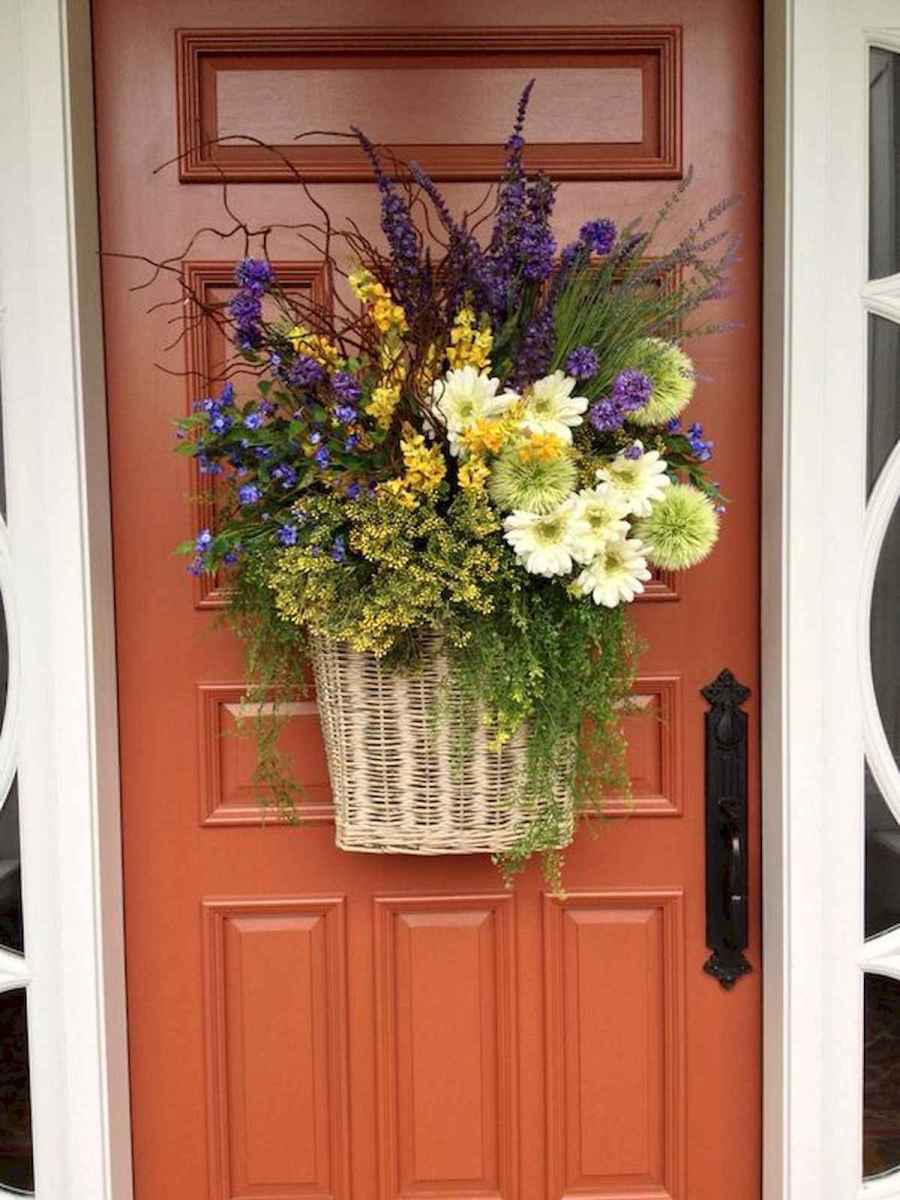60 Lovely Summer Wreath Design Ideas and Remodel (50)