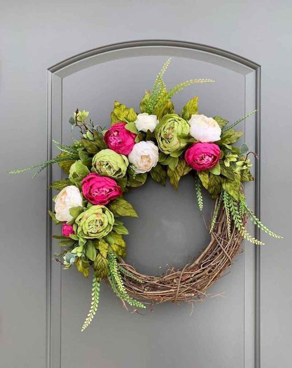 60 Lovely Summer Wreath Design Ideas and Remodel (57)