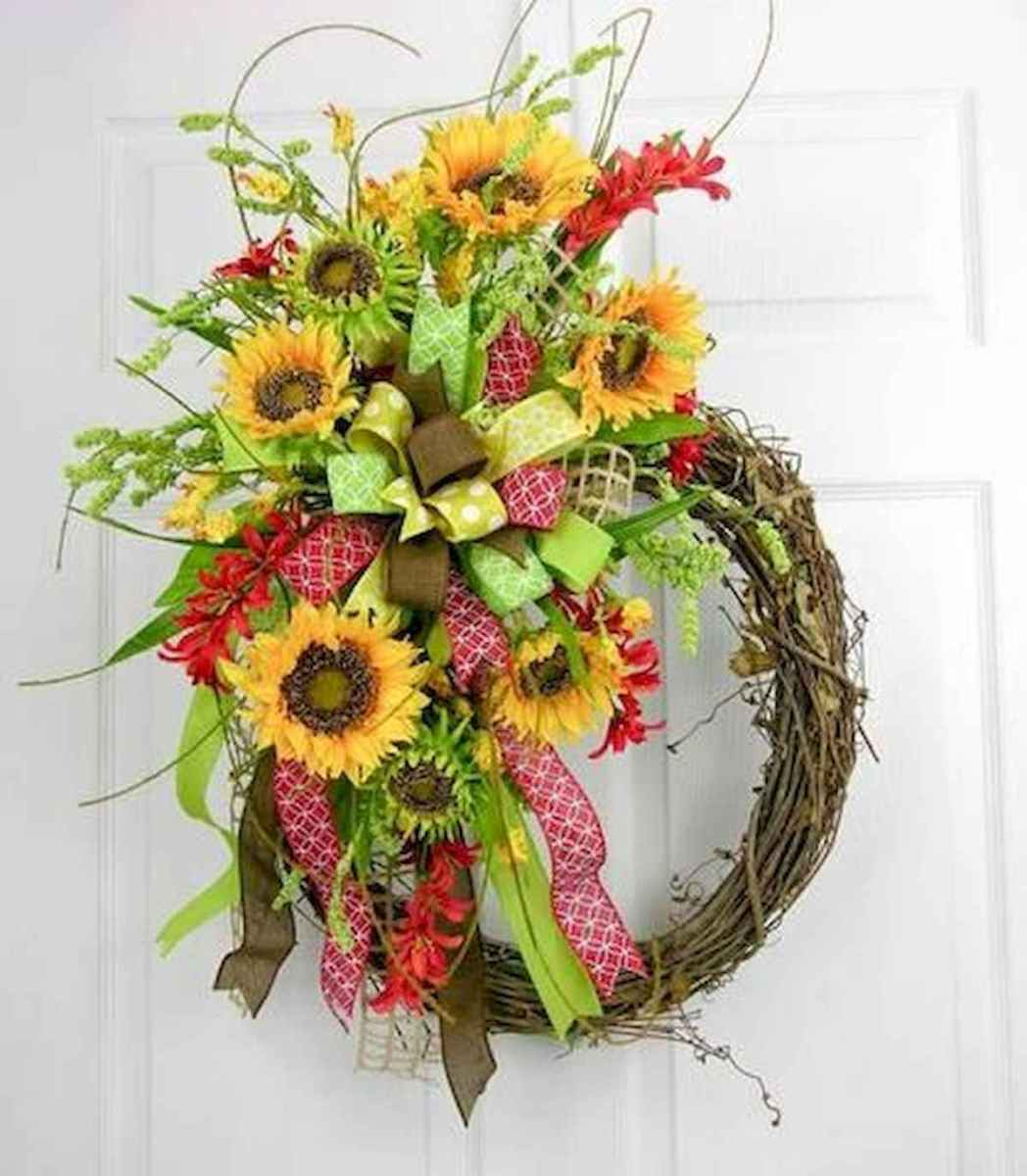 60 Lovely Summer Wreath Design Ideas and Remodel (58)