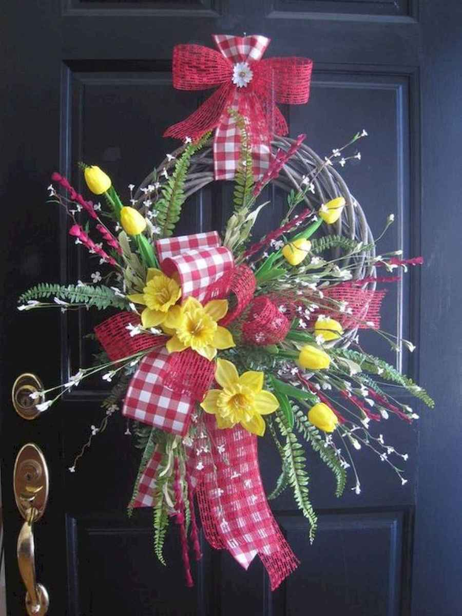 60 Lovely Summer Wreath Design Ideas and Remodel (6)