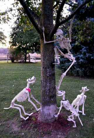 90 Awesome DIY Halloween Decorations Ideas (12)