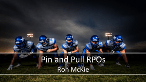 Pin and Pull RPO